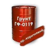 Грунтовка ГФ 0119 красно-коричневая для металлоконструкций