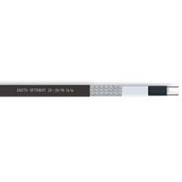 Optiheat 20, Саморегулирующийся кабель мощность 20 Вт/м при +10°С, черный