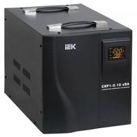 Стабилизатор напряжения однофазный 10000 ВА, Uвх=(130-270 В),+-3,5%, переносной IEK СНР1-0-10 кВА