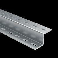 Z-образный профиль, L2000, толщ.2,5 мм, цинк-ламель